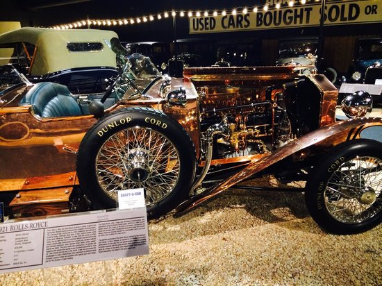 National Automobile Museum : Copper rolls.