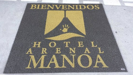 Arenal Manoa Hotel : Welcome