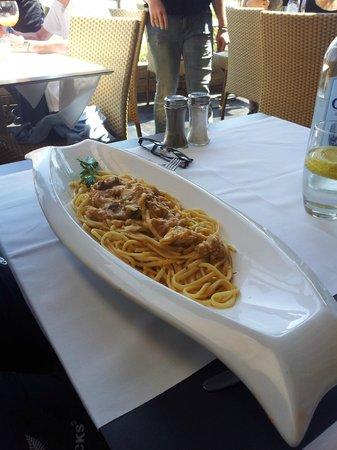Restaurant L'Escale : Pâtes au Denti