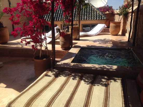 El Fenn : Room 6 private terrace and pool :)