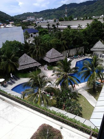 ibis Phuket Kata: View from the balcony