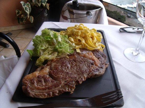 Restaurant le Belvedere: Entrecôte de boeuf