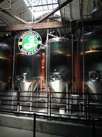The New York Beer and Brewery Tour : Brooklyn Brewery