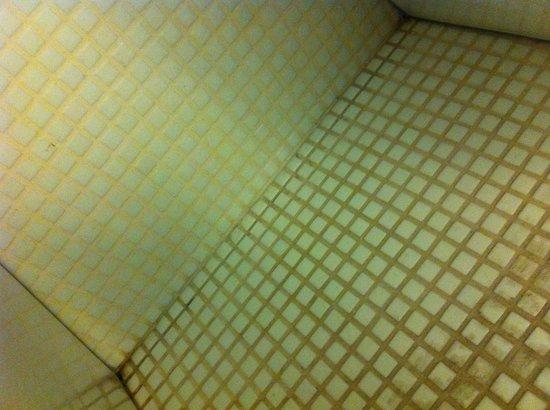 Boscolo Milano, Autograph Collection: Rejunte sujo no piso do banheiro