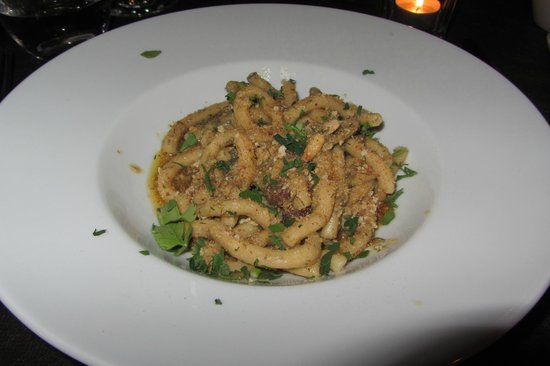 Osteria RossoDiVino : Pasta with Anchovy and Breadcrumbs
