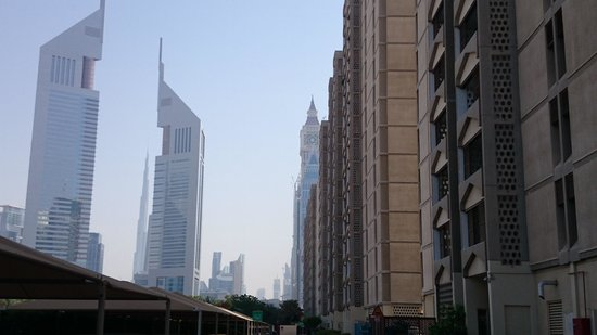 The Apartments Dubai World Trade Centre: Hotel block A on the left