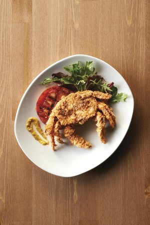 The Crab House: Crispy Soft Shell Crab (seasonal)