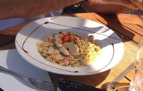 Restaurant le Marinella : Pasta au poulet