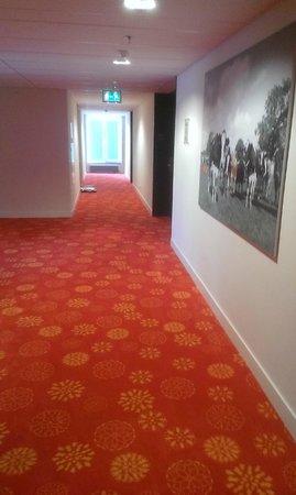 Hilton Garden Inn Leiden : hotel hallway