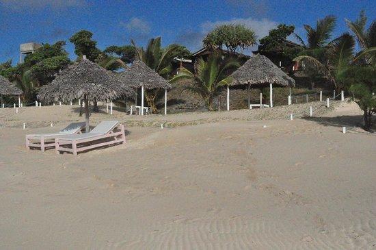Riake Resort & Villa : Plage Riake Resort