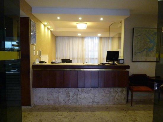 Hotel Casablanca: Recepção