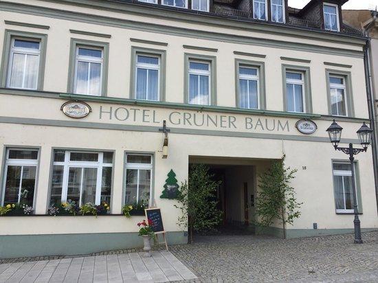 Elsterberg, Germany: Ansicht vom Markt