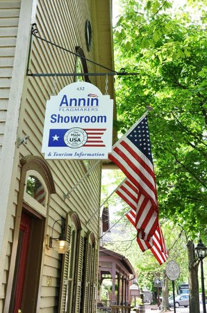 Coshocton Visitors Bureau & Annin Flagmaker Showroom