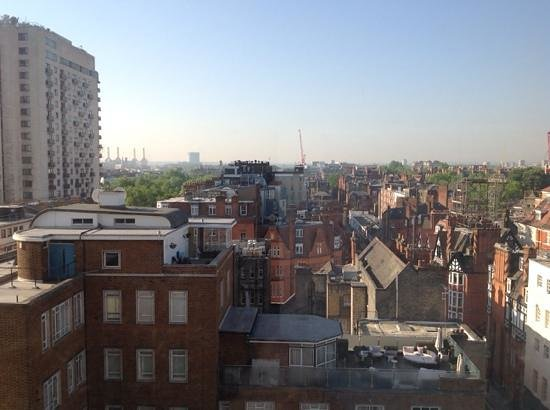 Millennium Hotel London Knightsbridge : vista dall'ottavo piano