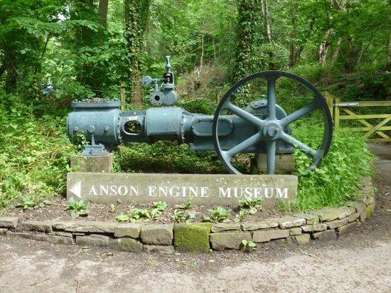 Anson Engine Museum: Entrance