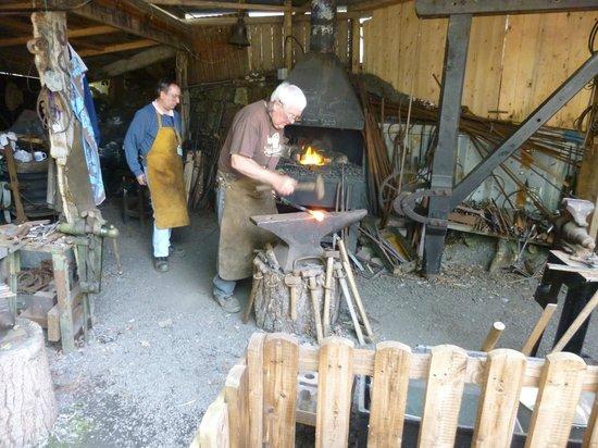 Anson Engine Museum: Blacksmith