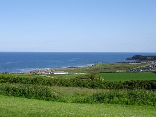 Widemouth Bay Holiday Village: View from village