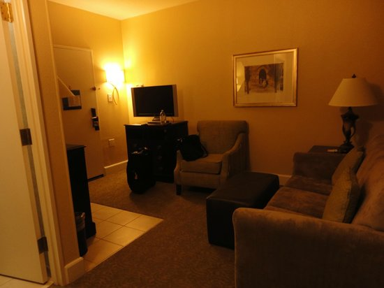 Hampton Inn & Suites Birmingham/280 East-Eagle Point: Living Room area