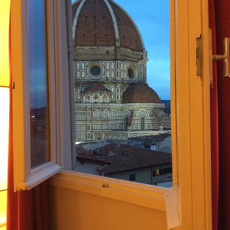Hotel Brunelleschi: View from our room