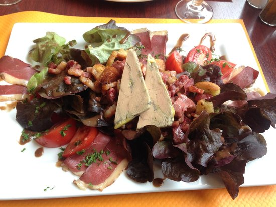 La Residence : Salade landaise