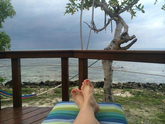 Hatchet Caye Resort: Room view #7