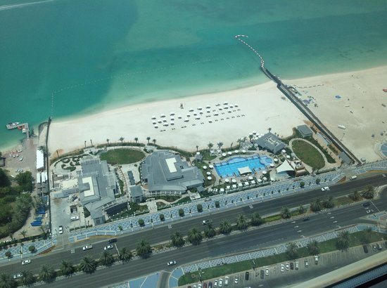 The St. Regis Abu Dhabi : View from our room on the 42nd floor