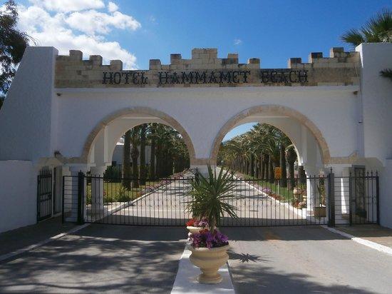 Club Marmara Hammamet Beach : Entrée Hôtel Hammamet Beach