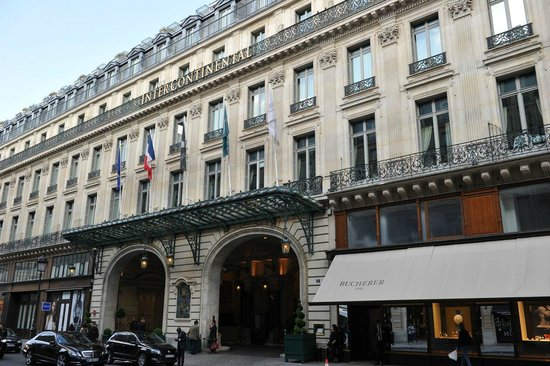 InterContinental Paris Le Grand: The hotel