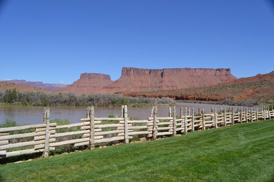 Red Cliffs Lodge : vista dalla camera