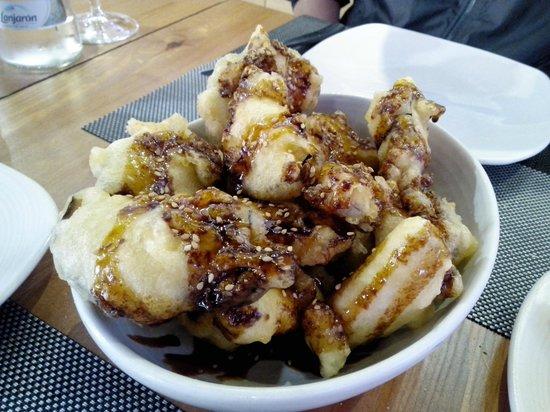 Carmela Restaurante: Eggplants in sugar cane honey