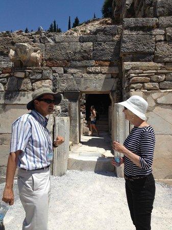 Ephesus Travel Guide - Private Ephesus Tours: Denizhan on the left