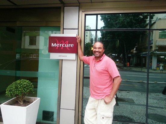 Mercure Rio de Janeiro Arpoador Hotel: #MercureRiodeJaneiroArpoadorHotel  Standing in front of the hotel