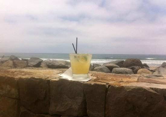 Margarita at Pacific Coast Grill