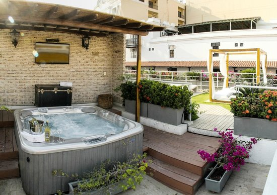 Hotel Boutique Don Pepe: Jacuzzi Terraza