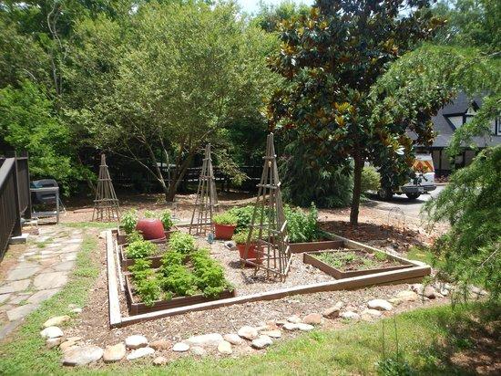 The Magnolia Thomas Restaurant: They grow their own herbs!