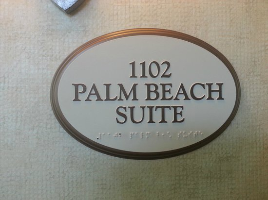 Hilton Marco Island Beach Resort--CLOSED FOR RENOVATIONS; REOPENING DEC. 1, 2017 : Room identification