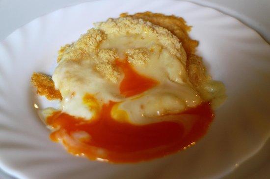 """Osteria Dei Sala: Tomino gratinato al forno con """"sorpresa""""..."""
