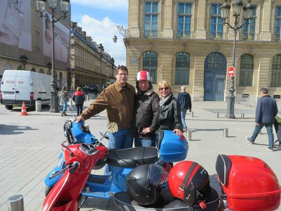 A great day with Thierry and Left Bank Scooters