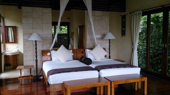 Munduk Moding Plantation : beds in villa #3