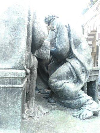 Cementerio Monumental: la scarsella di Giuda