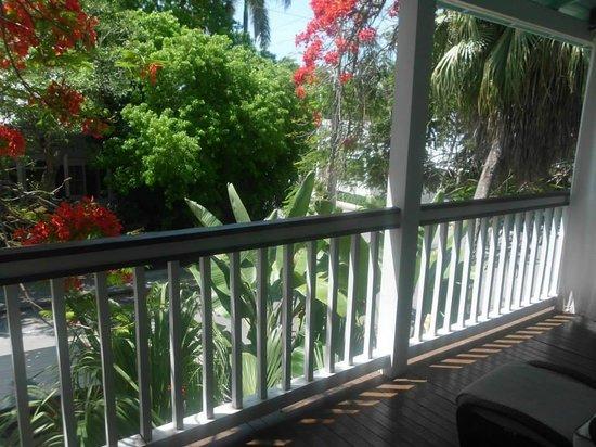 Frances Street Bottle Inn: View from balcony of Room 5