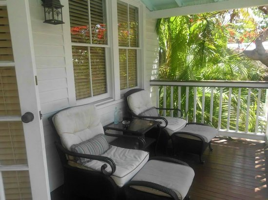Frances Street Bottle Inn : Balcony of Room 5