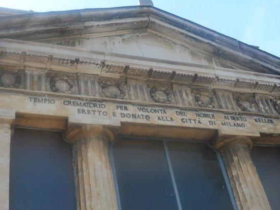 Cementerio Monumental: Tempio crematorio