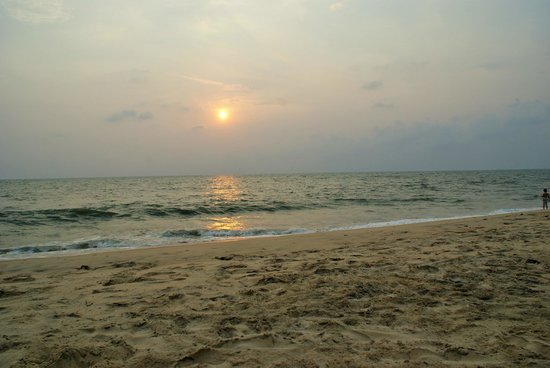 Abad Turtle Beach : The sunset from the hotel beach