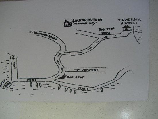 Taverna Anatoli : Directions