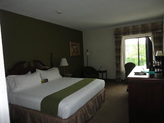 Holiday Inn Express & Suites Fort Payne : bed