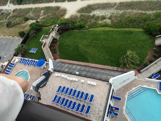 Ocean Park Resort, Oceana Resorts: View from room