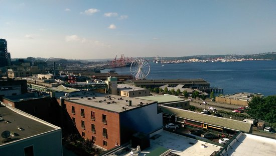 Pensione Nichols B&B : Pike Place Market was so close!