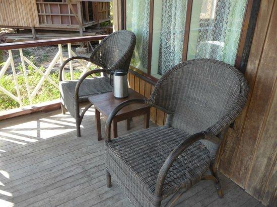 Princess Garden Hotel: Our porch