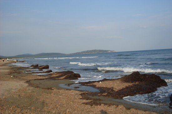 Spiaggia della Feniglia: dalla feniglia verso ansedonia